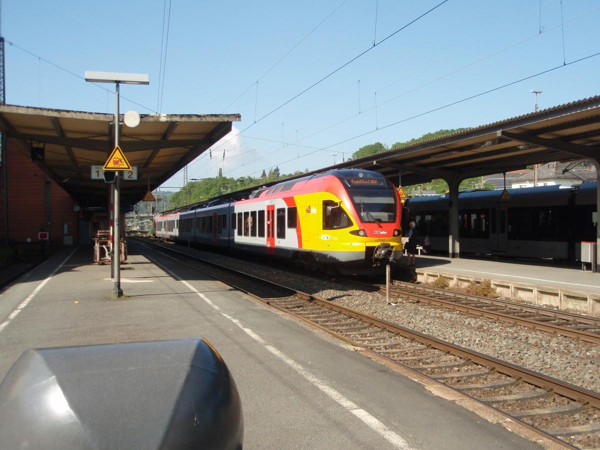 429 545 der hessischen landesbahn als re 99 nach frankfurt main hbf in siegen. Black Bedroom Furniture Sets. Home Design Ideas