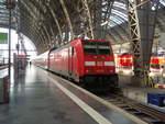 146 254 als RE 30 nach Kassel Hbf in Frankfurt (Main) Hbf. 23.02.2019
