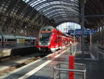445 045 als RE 54 nach Bamberg Hbf in Frankfurt (Main) Hbf.