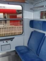 Inneneinrichtungen/55059/der-innenraum-eines-halberstaedters-der-bte Der Innenraum eines Halberstädters der BTE im RE 13 Ersatzverkehr der eurobahn. 20.02.2010