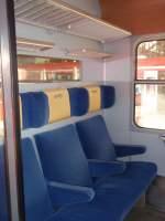 Inneneinrichtungen/57785/der-innenraum-eines-halberstaedters-der-bte Der Innenraum eines Halberstädters der BTE im RE 13 Ersatzverkehr der eurobahn. 06.03.2010